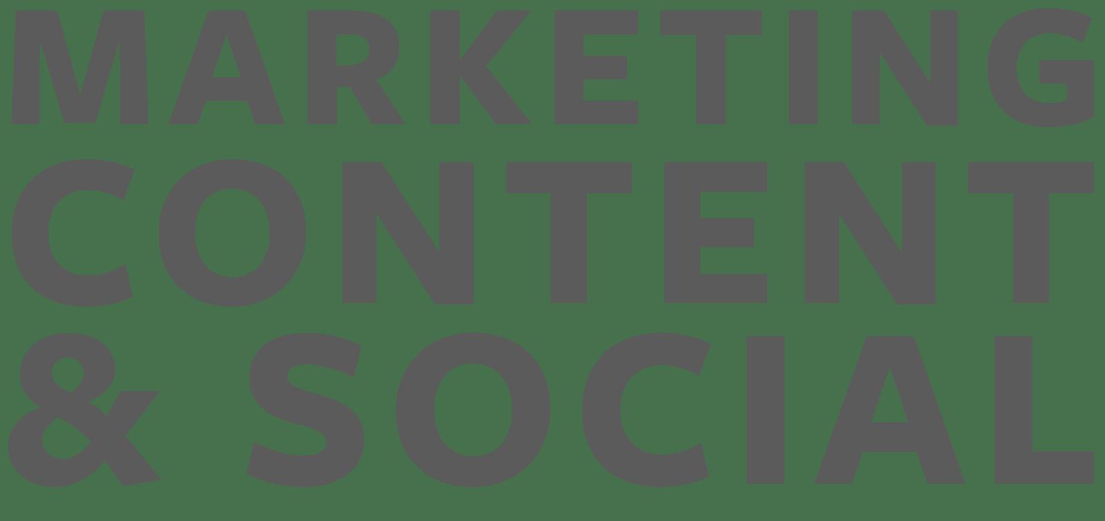 Marketing, Content, & Social