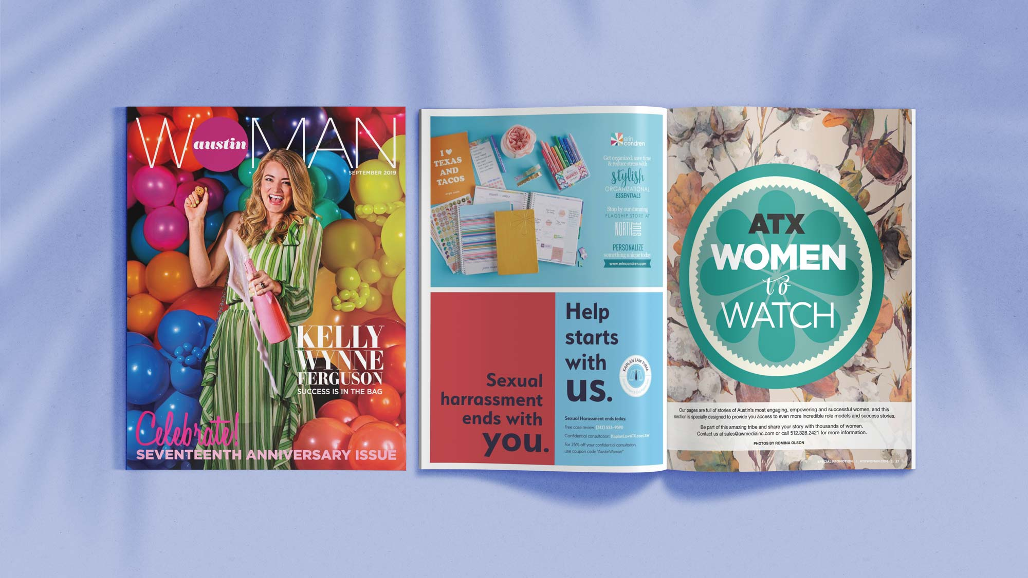 Kaplan Law Firm Print Advertisements